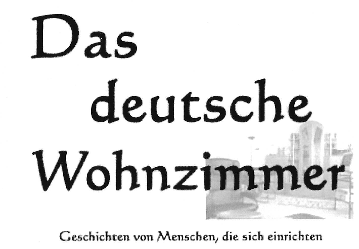 Mgs Filmproduktion Das Deutsche Wohnzimmer